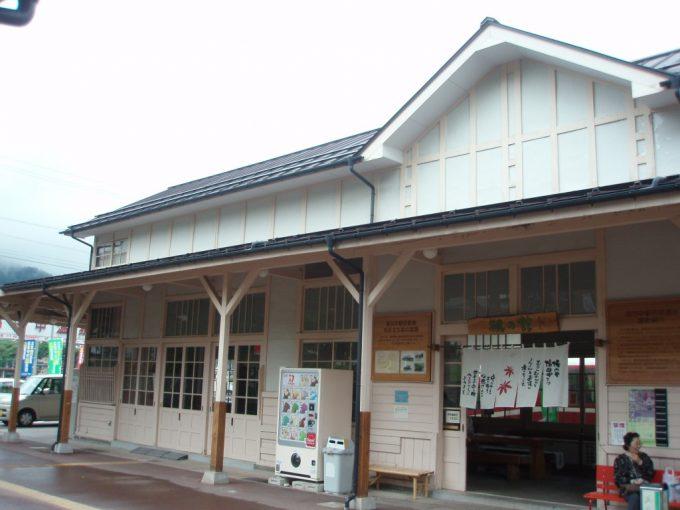 旧湯田中駅舎