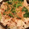 ごま香る冷しゃぶオニオンサラダ・いかと里芋のピリ辛味噌煮・九条ねぎとししとうの八丁味噌炒め