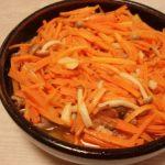 カレー風味の豚しゃぶマリネ・トマトと生ハムの重ね焼き