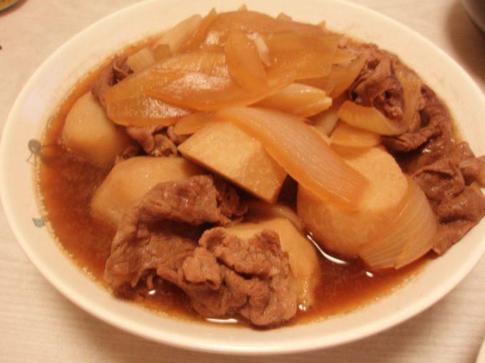 里芋と牛の煮物