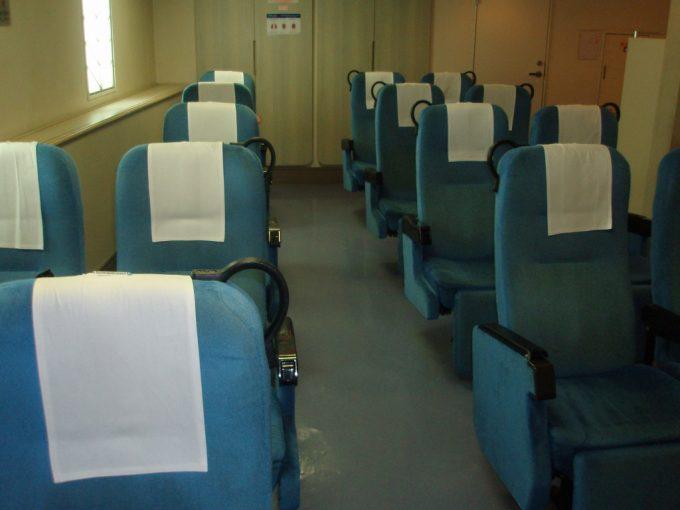 東海汽船さるびあ丸2等座席