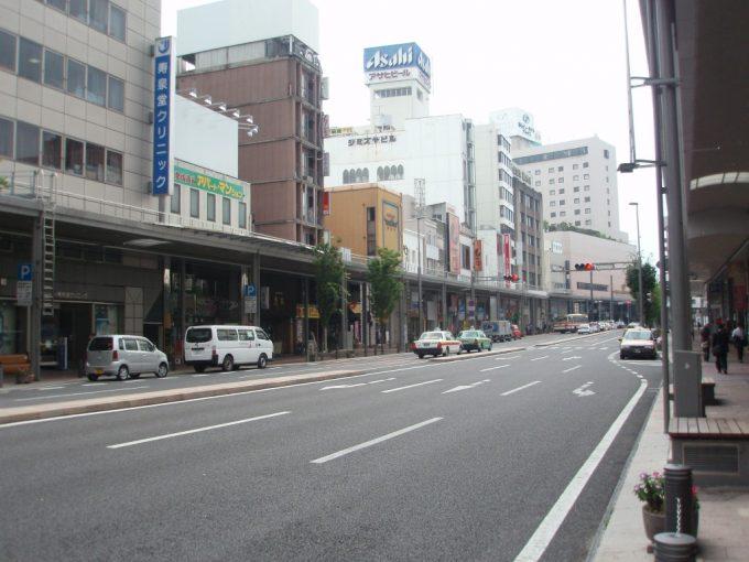 郡山駅前の商店街