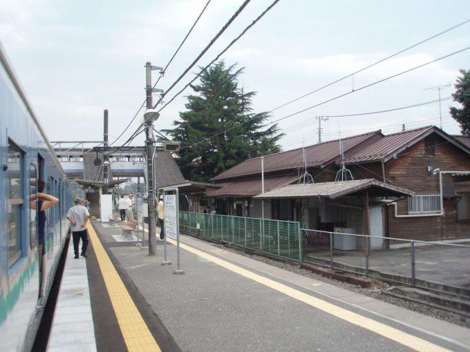 日野春駅ホーム