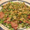 牛もも焼きねぎ旨ソース・ささみと枝豆の変わりわさび和え・厚揚げの八丁味噌煮