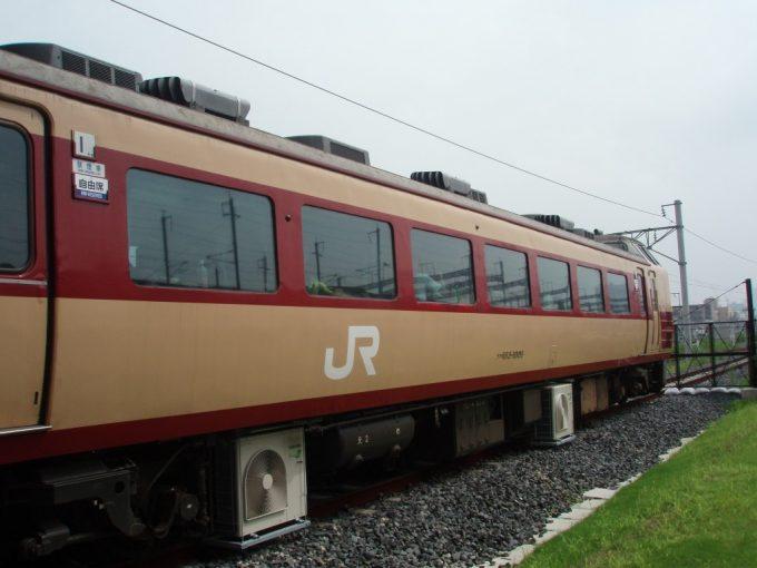 鉄道博物館休憩用183系