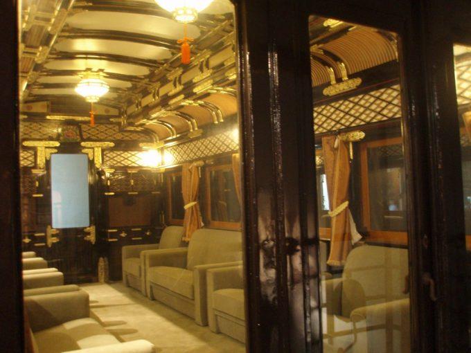 鉄道博物館仏壇列車