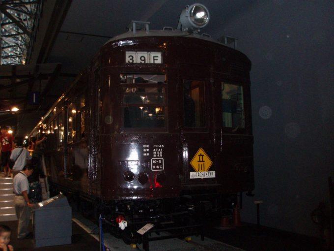 鉄道博物館旧型国電