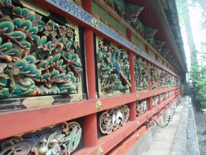日光東照宮透かし彫りの回廊