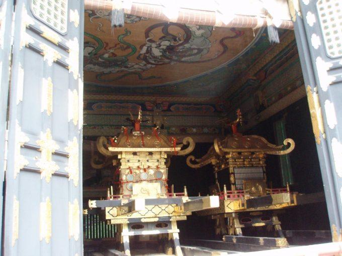 日光東照宮の御神輿