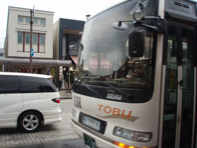 東武日光より中禅寺湖行きバス