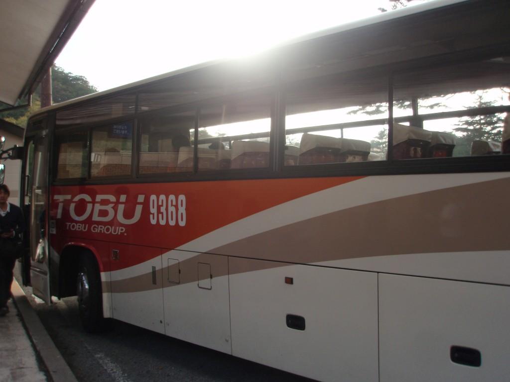 中禅寺湖東武バス