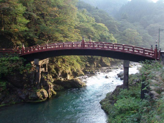 日本三大奇橋日光の神橋