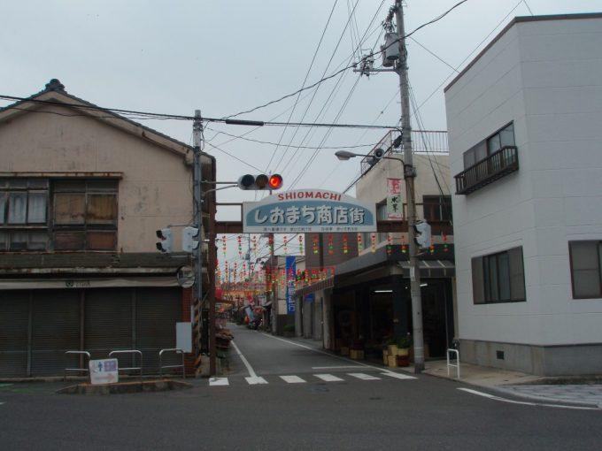生口島の商店街