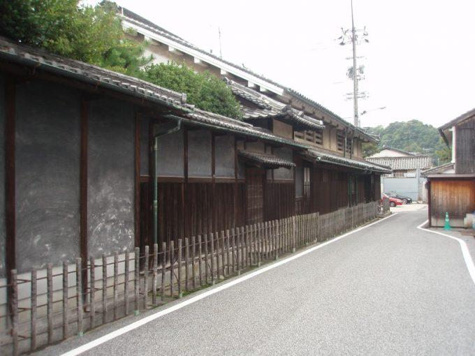 生口島の古い家並み