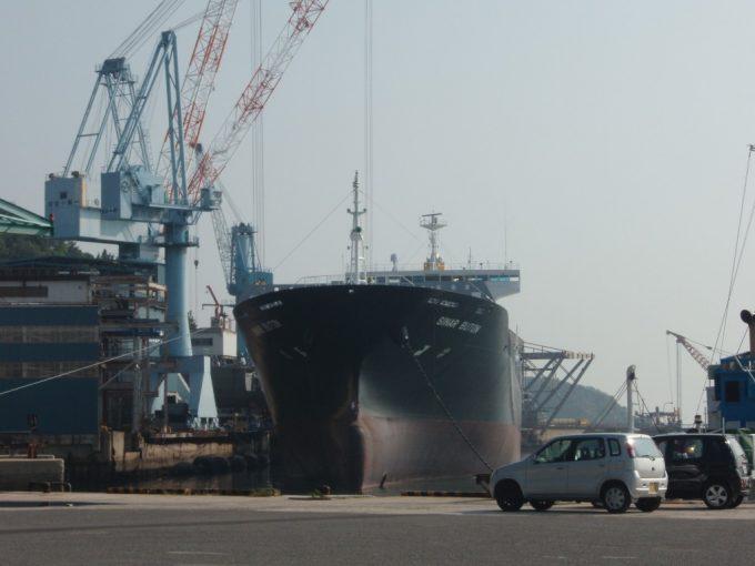 造船で栄える伯方島