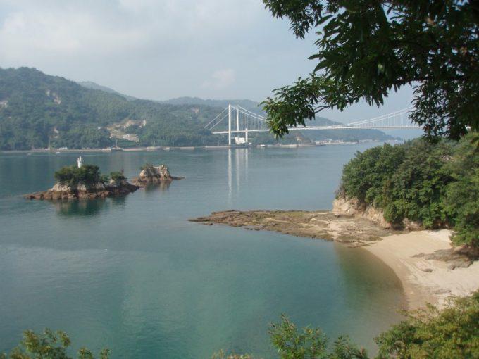 船折瀬戸と鶏小島