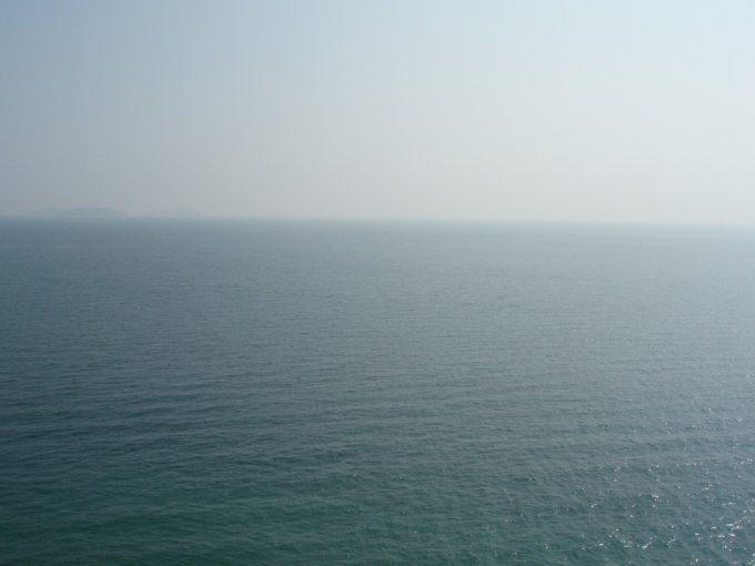 瀬戸内海大島の大海原