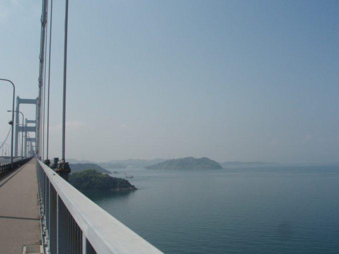 来島海峡大橋から眺めるしまなみ