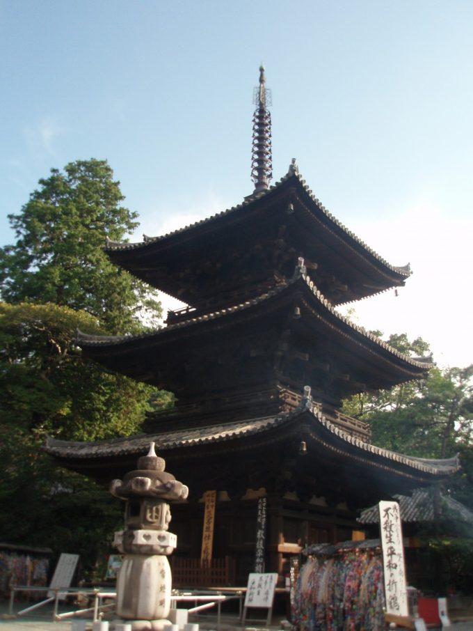 石手寺の塔