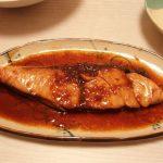 ピリ辛中華風ぶり照り・いんげんと玉ねぎのツナサラダ・九条ねぎのコンソメ煮浸し