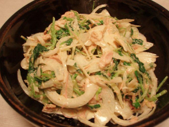 しゃきっと野菜の中華マヨサラダ