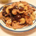 秋なすの味噌炒め・長芋となめこの明太和え・しゃきっと野菜の中華マヨサラダ