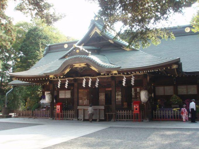 歴史深い大国魂神社