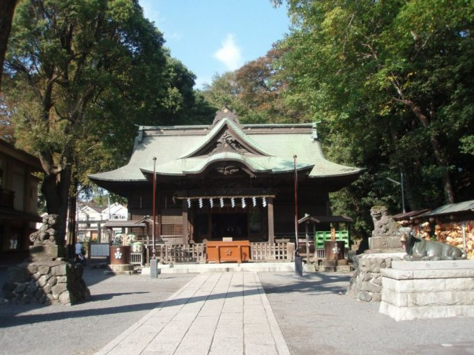 東日本最古の天満宮谷保天神