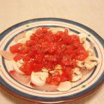 コテージパイ・鯛のカルパッチョトマトマッシュルームマリネ添え・ローストビーフ