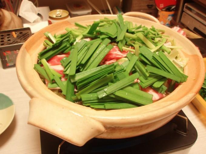 もつ鍋風特製スープの豚バラ鍋