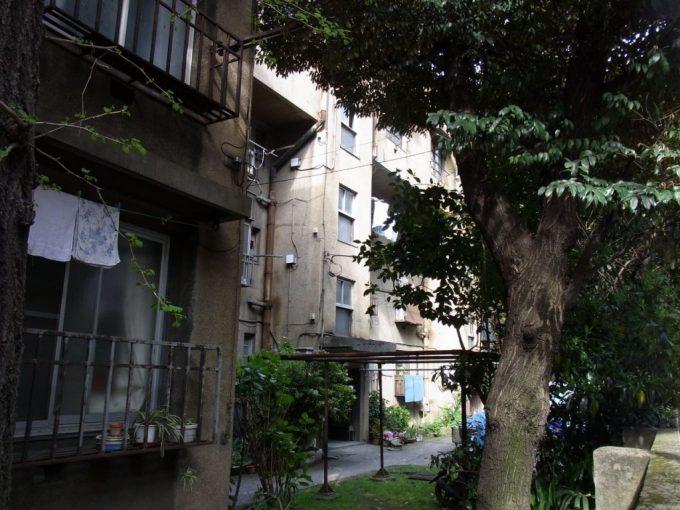 生活感漂う同潤会上野下アパート