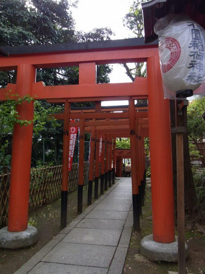 上野公園花園稲荷神社鳥居