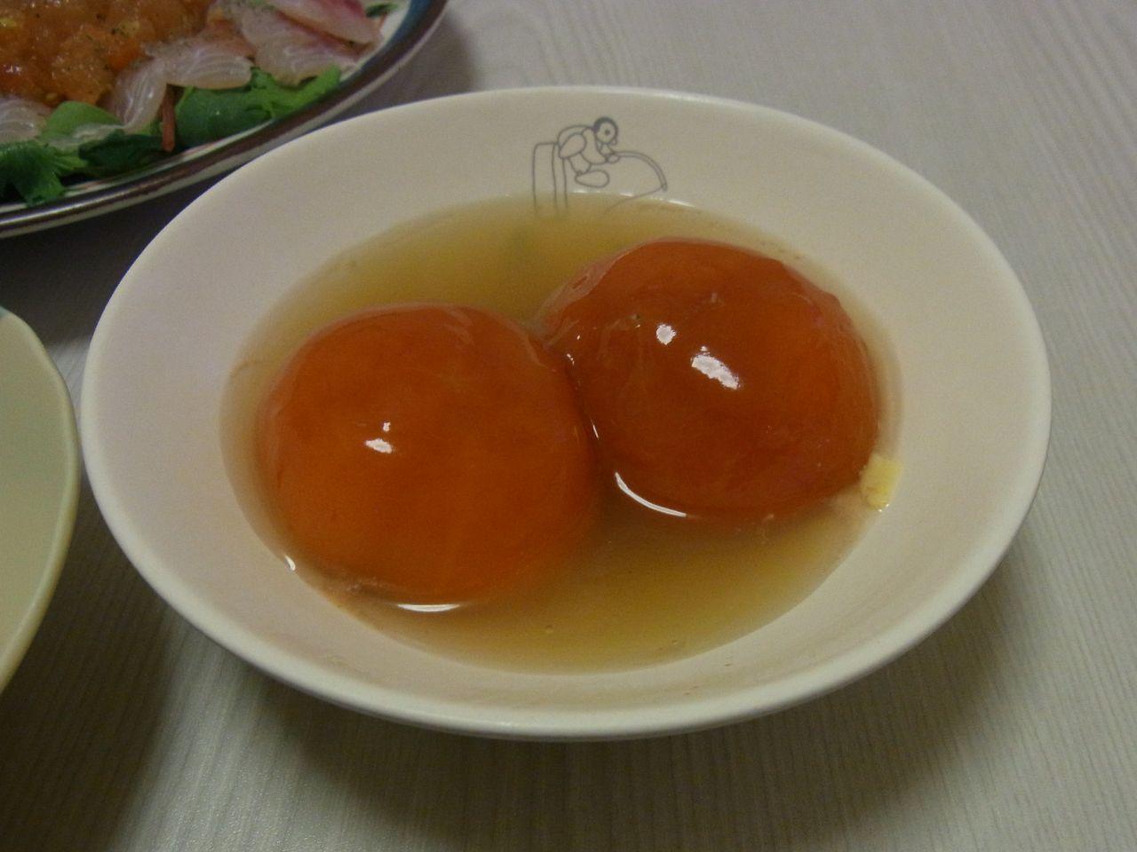 ぷるんぷるん冷やしトマト