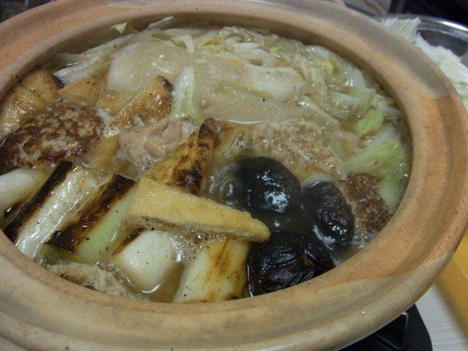 香ばし塩焼き鶏鍋