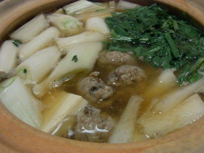 生姜たっぷりさんまのつみれ鍋