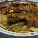 かつおのにんにく醤油さっと焼き・里芋の明太まぶし・しらたきとツナの味噌炒め煮
