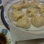 ほたて風味の手作り小龍包・チンゲンサイ餃子・ガッツリにんにくニラ餃子・鯛の中華蒸し