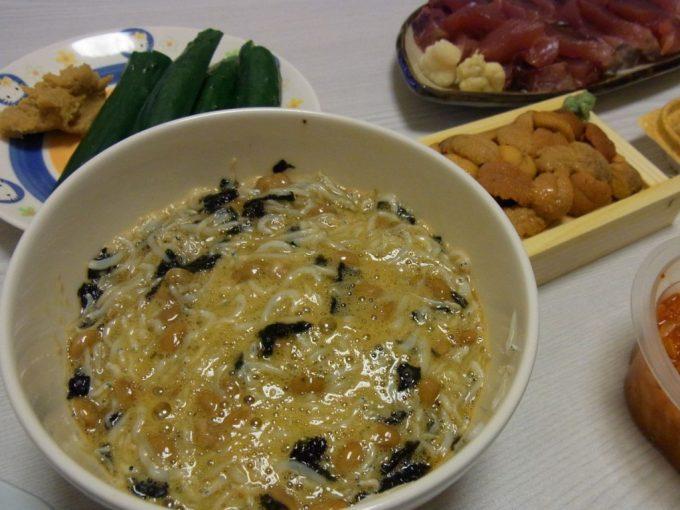 ふわとろしらす海苔納豆