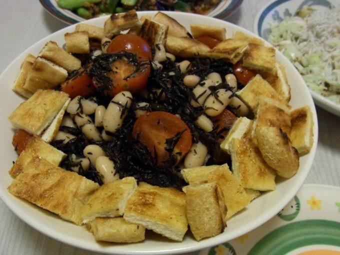 豆とひじきの健康サラダ