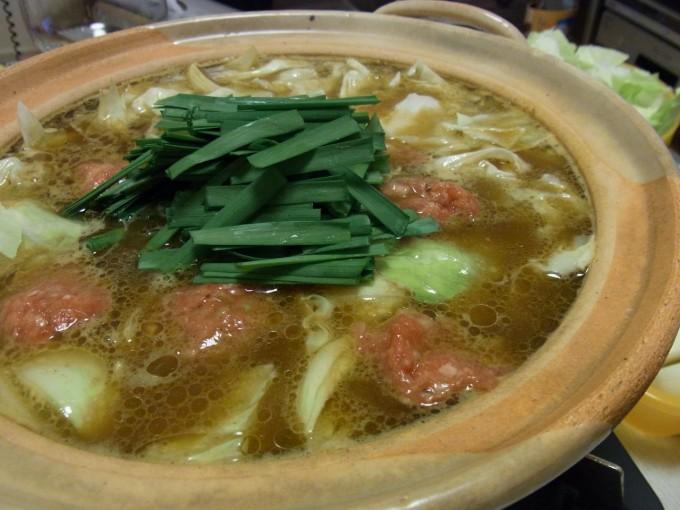 自家製スープのまろやかカレー鍋