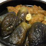 なすとさつま揚げの冷たい煮物・豆苗となすのベーコン炒め・まぐろの八丁ユッケディップ