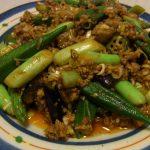 夏野菜マーボー・焼きなすのまろやかしらすぽん酢・豆とひじきの健康サラダ