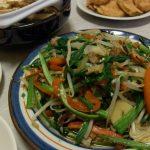 彩り野菜のしゃきしゃきオイスター炒め・鶏の夏野菜甘酢あん・厚揚げのカレー風味炒め