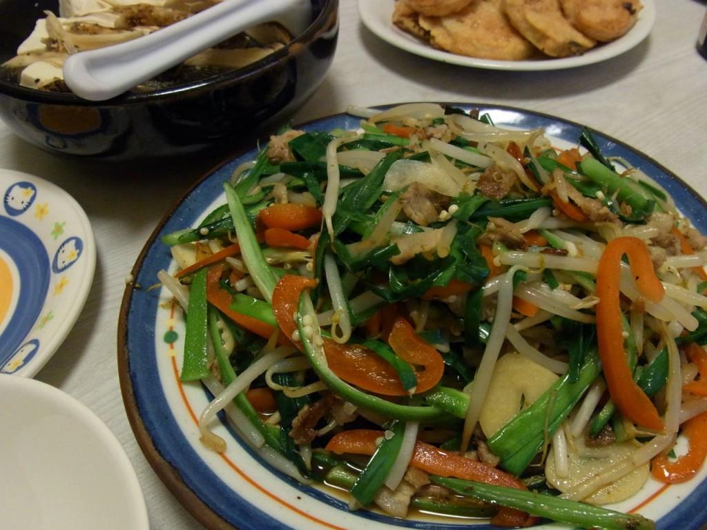 彩り野菜のしゃきしゃきオイスター炒め