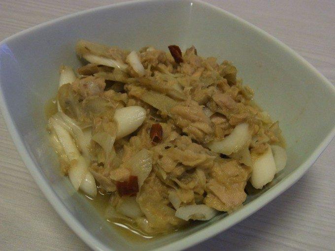 新ごぼうとツナの味噌炒め煮