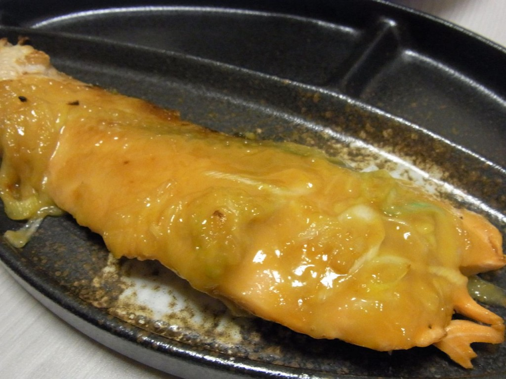 生時鮭のねぎ味噌焼き