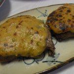 牛の山椒ごま味噌焼き・まぐろのわさびマヨカルパッチョ・いかと空芯菜のにんにくごま塩和え
