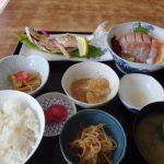 十和田湖根岸屋ヒメマス塩焼き・お刺身定食