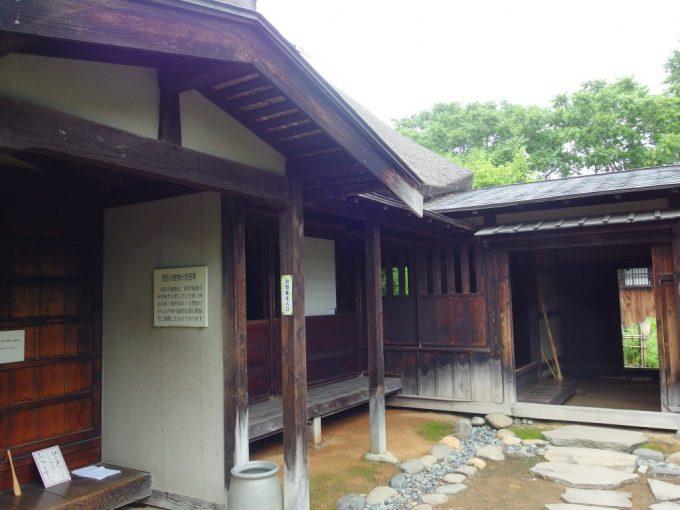 弘前武家屋敷旧岩田家住宅玄関