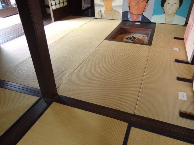 弘前武家屋敷旧笹森家畳の違い